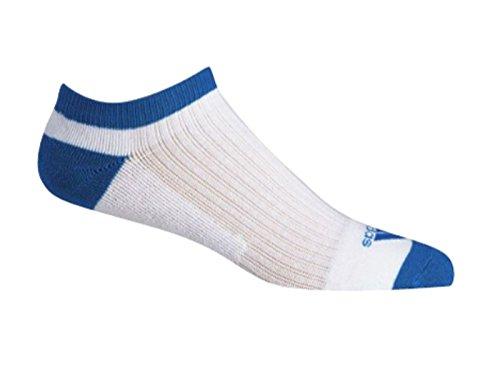 adidas BC2328, Calcetines Cortos para Mujer, Multicolor (Blanco/Azul), One