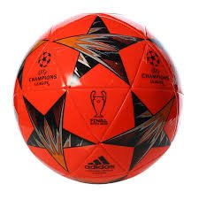 Soccer Red Adidas Ball (adidas Champions League Finale Kiev Capitano Soccer Ball, Bright Red/Blue, Size 4)
