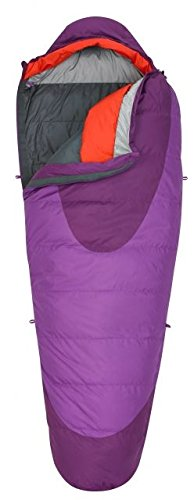 Kelty Women's Cosmic 20 Degree Sleeping Bag, Dahlia/Grape Juice (Sleeping Womens Down Bag)