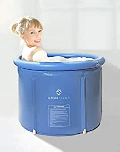 portable bathtub small by homefilos japanese soaking bath tub for shower stall inflatable. Black Bedroom Furniture Sets. Home Design Ideas