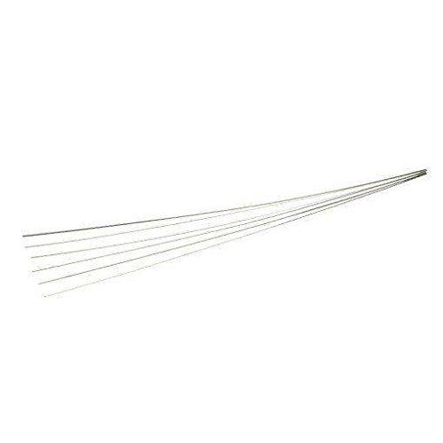 Keystone SS Clasp Wire, 18ga Round 10x1ft Strips