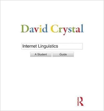 Livres Pdf à Télécharger Gratuitement Internet Linguistics A