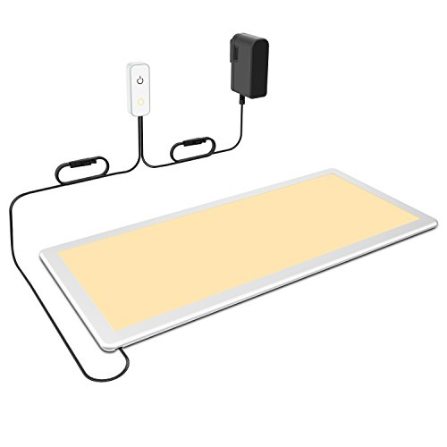 Under Cabinet Lighting, OxyLED Under Cabinet Lights, Extra Large Panel LED Under Cabinet Light, Dimmable LED Under Counter Lights for Kitchen, Art Studio, Attic (12W, 750lm, Warm White 3000K)