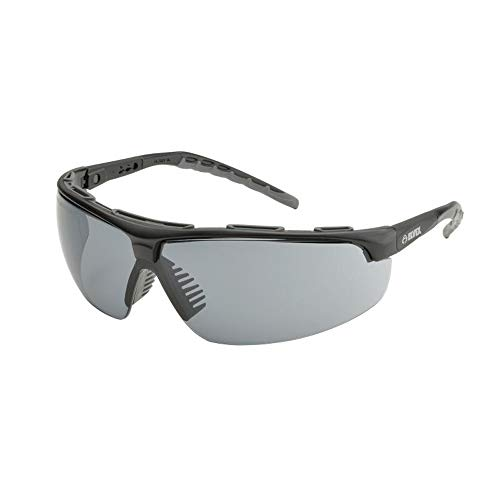 Elvex Denali Safety Glasses-Black Frame-Grey Anti-Fog Lens (Bundle of 3) - SG-56G-AF