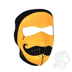 Zan Headgear Full Mask, Neoprene, Mo Happy