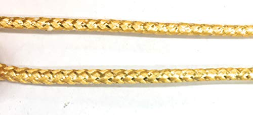 Weave Gold Cord Trims 1/8