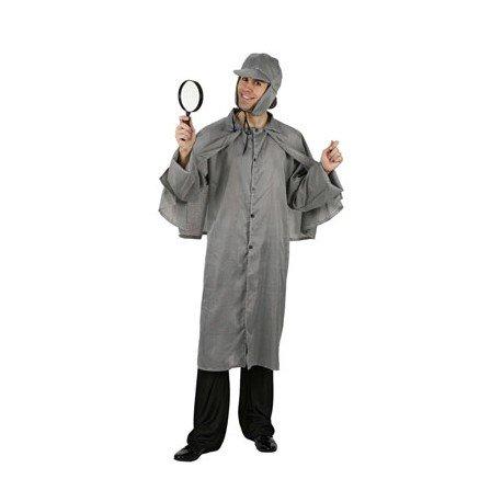 Carnaval Disfraz detective adulto