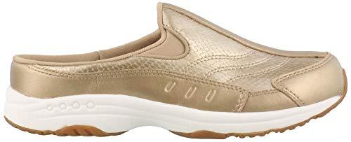 Easy Spirit Women's Traveltime 335 Light Gold/Light Gold 9.5 D US (Soft Leather Gold Footwear)
