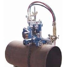 BLUEROCK Tools Model CG-211Y Manual Pipe Cutting Machine - Track Torch Burn...