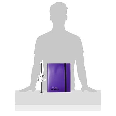 Ultra Pro 9-Pocket Purple PRO-Binder: Sports & Outdoors