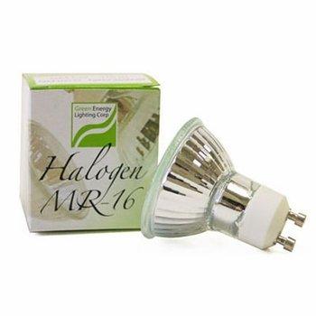 Green Energy 11517 Q50MR16/FL/GU10 (10 PACK) 50 Watt, MR16 With UV Glass Cover, 120 Volt, GU10 Base, Halogen Flood Light Bulb
