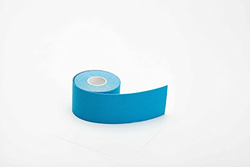 MUEUSS Kinesiology Tape Sports Tape Waterproof Hypoallergenic Breathable Elastic Roll for Knee Ankle Muscles Elbow Shoulder Latex Free Uncut 16.5 ft – DiZiSports Store