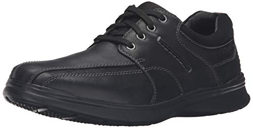 CLARKS Men's Cotrell Walk Oxford, Black, 11.5 M US Black Friday Deals 2019