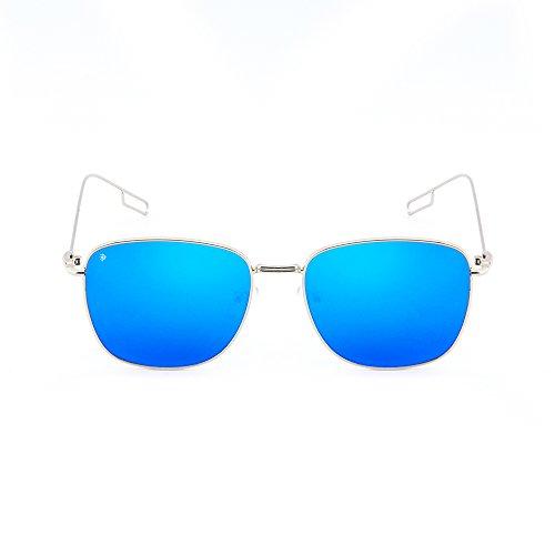 Azul mujer sol TANNING Plata de degradadas Gafas TWIG hombre espejo aCZqZf