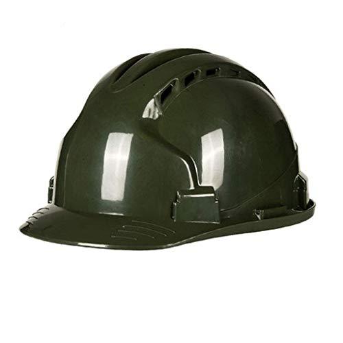 ZBM-ZBM Senior Safety Helmet, Safety Helmet Construction, Concave Cap Construction Site (Multi-Color Optional) (Color : - Pe Lined Cap