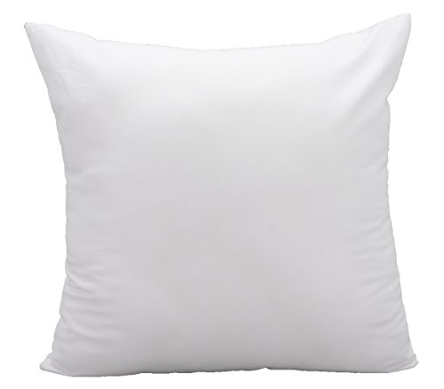 Pal Fabric Cotton Feel like Brushed Microfiber Square Sofa Couch Decorative Sham Pillow Insert 20x20 Made in (Usa Sofa)