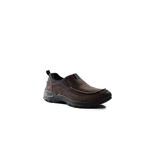 Lands' End School Uniform Mens All Weather Moc Shoes, 13, (Classic Moc Slip)
