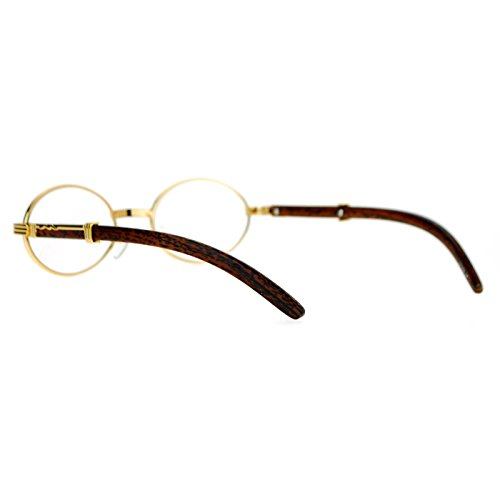 12a5021f9069 SA106 Art Nouveau Vintage Style Oval Metal Frame Eye Glasses - Import It All