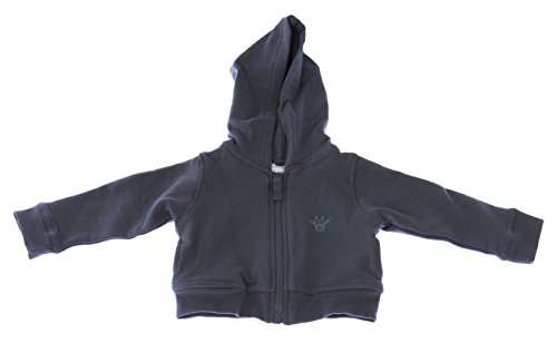 Marie Chantal Baby Boy's Harry Zip up Sweatshirt Sz Medium Grey (Chantal Marie Baby)