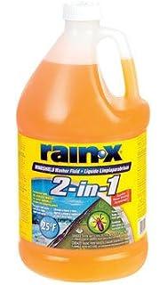Amazon.com: Rain-x 2 Pack 2 in 1 All Season (-25) Washer Fluid Net ...