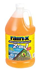 Rain-X 2-N-1 De-Icer And Bug Remover Windshield Washer Fluid -25 Deg. 1 Gal.