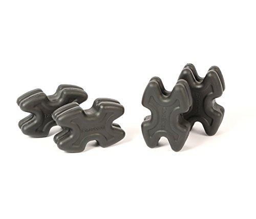 LimbSaver 4720 TwistLox Dampener for Split Limb Bows, Black ()