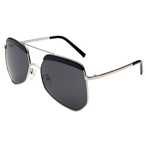 IPOLAR GSG800009C4 Fashionable TAC Lens Personality Metal Frames - Voucher Direct Glasses