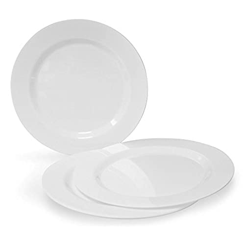 sc 1 st  Amazon.com & White Dinner Plates Bulk: Amazon.com