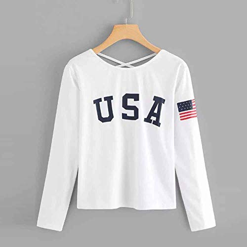 Camicia Lunga Manica Give White donna Moda koiu 1vwxqgH