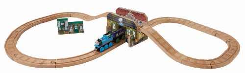 Fisher-Price Thomas & Friends Wooden Railway, Creative Junction Mix, Match and Build