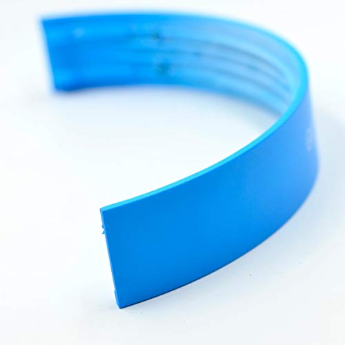 Replacement Top Headband Headphone Top Head Arch Band Repair Parts Compatible with Beats Solo HD On-Ear Headphones Matte Color (Light-Blue) (Beats Solo Hd On Ear Headphone Matte Blue)