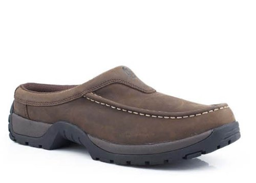 (ROPER Men's Trot Walking Shoe Brown 11.5 D)