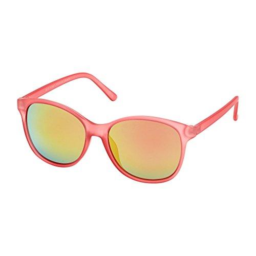 Blue Planet Sunglasses Luna BP14192 Frost Coral / Red Mirror Polarized - Sunglasses Luna
