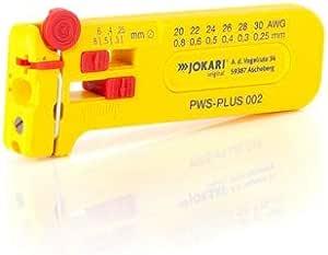Jokari 40025 30-20 AWG Mini-Precision Cable Stripping Tool - Multi-Coloured