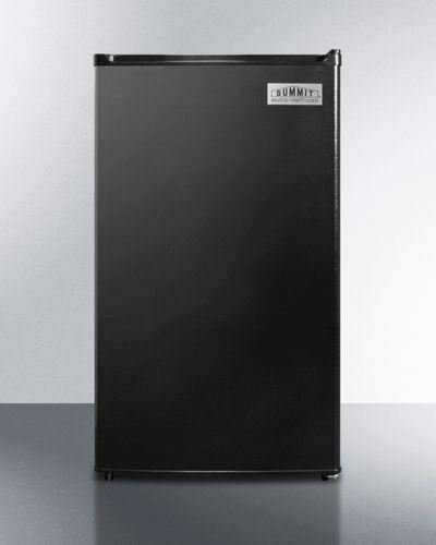 Summit Compact Auto-Defrost ADA Refrigerator-Freezer -Black