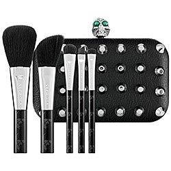 Sephora Drop Dead Gorgeous 6-Piece Limited-Edition Brush Set $155.00 Value! (Skull Makeup Kit)