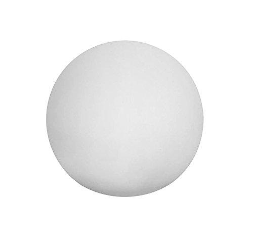 Lampada Led da Giardino e Galleggiante Sined Diametro 30 cm colore bianco traslucido