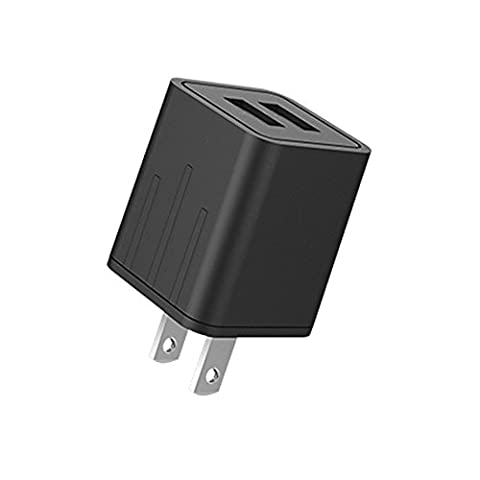 ASUMI Wall Charger 21W 4.2Amp 2-Port Rapid USB Travel Power Adapter Compatible iPhone iPad Samsung and Others - (Usb Power Adaptor Ipad)