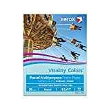 Multipurpose Colored Copy Paper, 20 Lb, 8 1/2in. x 11in, Blue, Ream Of 500 Sheets