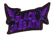 Black Sabbath Purple Embroidered Badge Patch Sew-on or Iron-on 9cm