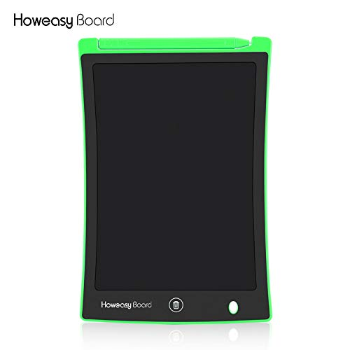 LCD Writing Drawing Pad Tablet Board for Kids & Adults, LCD Draft Pad with Smart Stylus Suitable for Home, School and Office (Green)