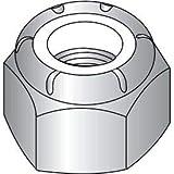 10-32 NM Nylon Insert Hex Lock Nut 18 8 Stainless Steel, Pkg of 2000