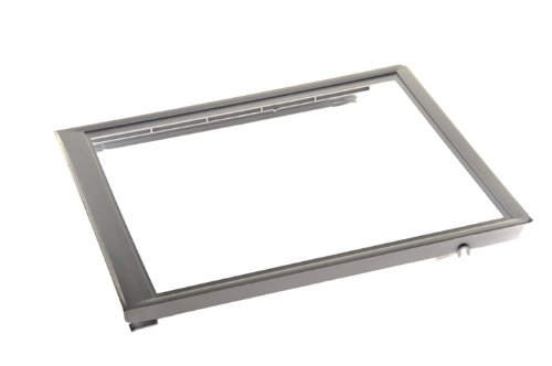 Frigidaire 240350702 Crisper Pan Cover for Refrigerator Refrigerator Glass Crisper Shelf