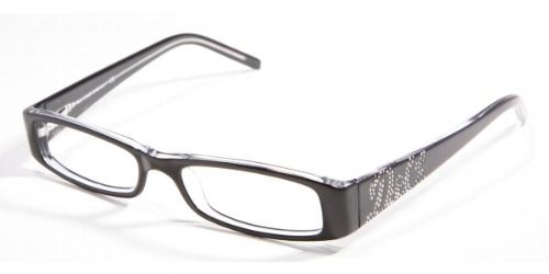 D&G EYEGLASSES 1128B 1128-B BLACK & CLEAR - B&g Sunglasses