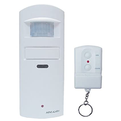 Motion Detector Alarm >> Amazon Com Wireless Motion Sensor Alarm With Built In 130db Scream