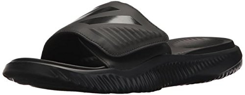 adidas Men's Alphabounce Slide Sport Sandal, Black, 9 M US