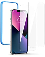 UGREEN 2 Pack Screen Protector for iPhone 13/13 Pro 6.1 Inch Tempered Glass Full Screen Protector Anti-Scratch with Alignment Frame Bubble Free Scratch Resistant Compatible with iPhone 13/13 Pro