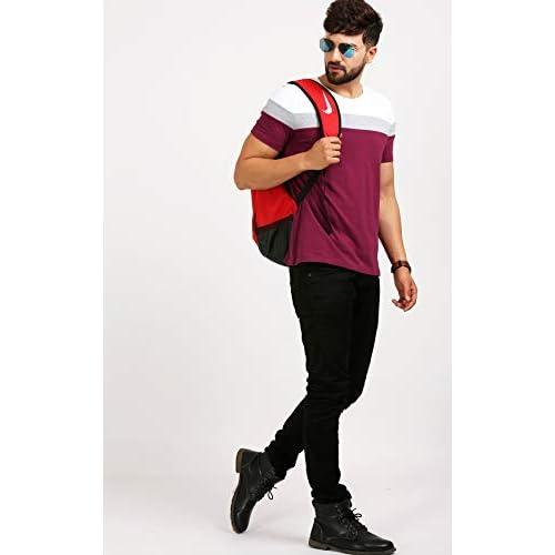 314vSbu%2BnUL. SS500  - AELOMART Men's Regular Fit T-Shirt