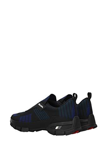 4o3223nylonteccolo Prada Sneakers Black Eu Tessuto Uomo ppOwTqt