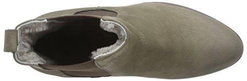 Diavolezza SABINE - botas de caño bajo de cuero mujer marrón - marrón